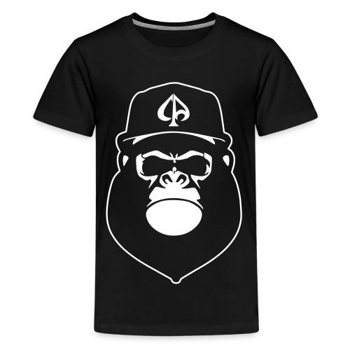 Black/White (Teens) - Teenager Premium T-Shirt