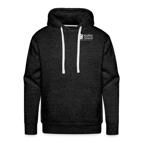 Männer Hoodie DV MuF Logo doppelt - Männer Premium Hoodie