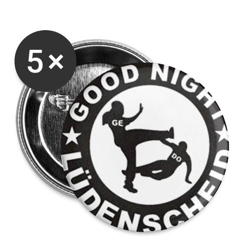 GNL Buttons - Buttons klein 25 mm (5er Pack)