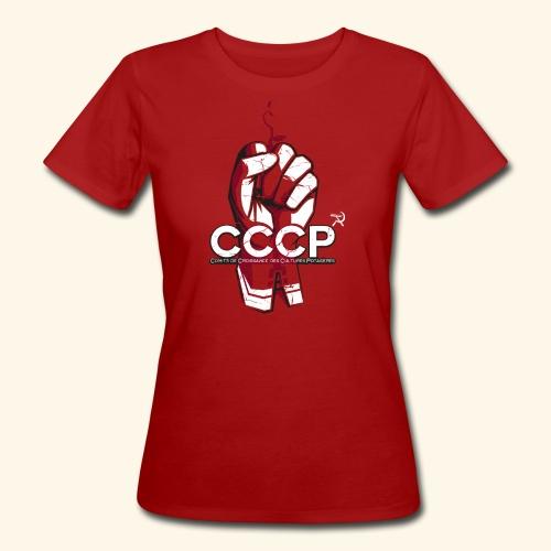 T-shirt bio Femme - Pour toutes celles qui aime jardiner avec conviction !