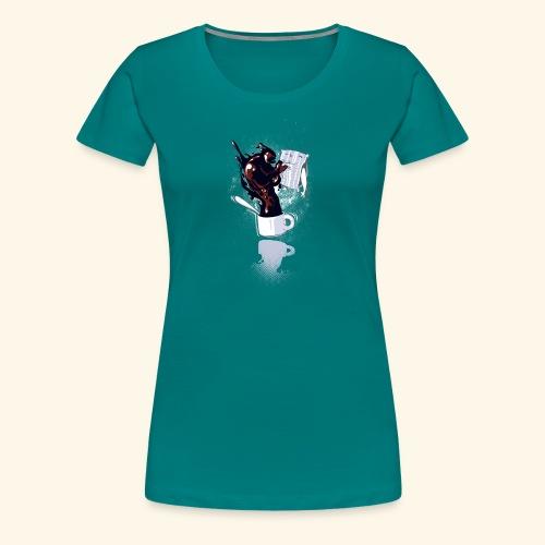 wake up - T-shirt Premium Femme