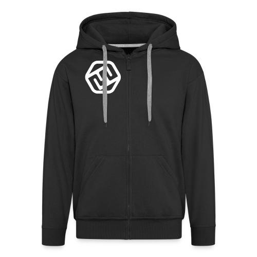 FFxd Jungens Team-Zipper - Männer Premium Kapuzenjacke