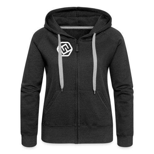 FFxd Mädels Team-Zipper - Frauen Premium Kapuzenjacke