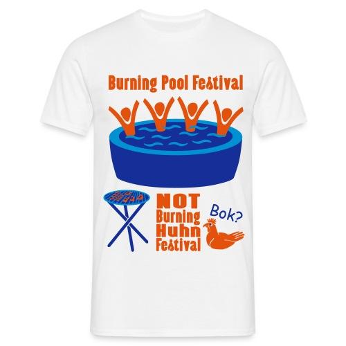 Burning Pool Festival - Männer T-Shirt