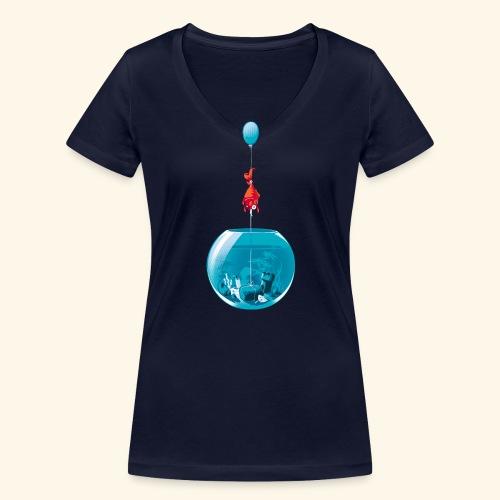 BeCreative - T-shirt bio col V Stanley & Stella Femme