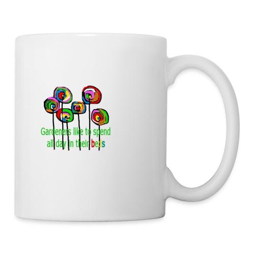 flower garden - Tasse