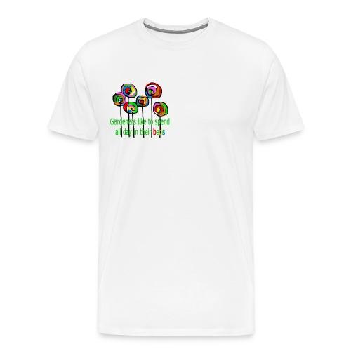 flower garden - Männer Premium T-Shirt