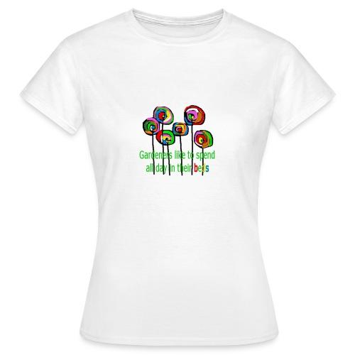 flower garden - Frauen T-Shirt