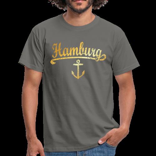 Hamburg Anker T-Shirt - Männer T-Shirt
