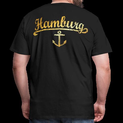 Hamburg Anker Premium T-Shirt - Männer Premium T-Shirt