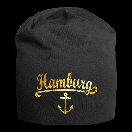 Hamburg Anker Mütze - Jersey-Beanie