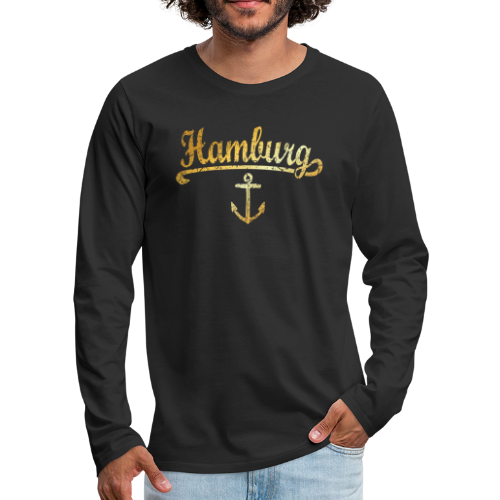 Hamburg Anker Longsleeve Shirt - Männer Premium Langarmshirt