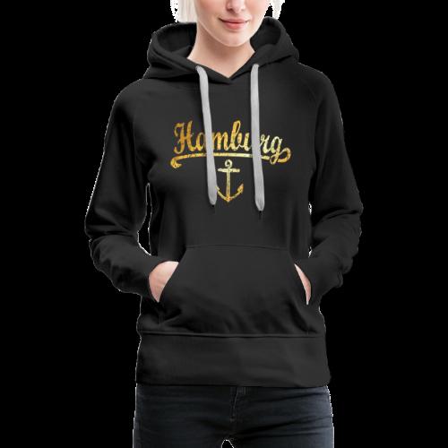 Hamburg Anker Hoodie - Frauen Premium Hoodie