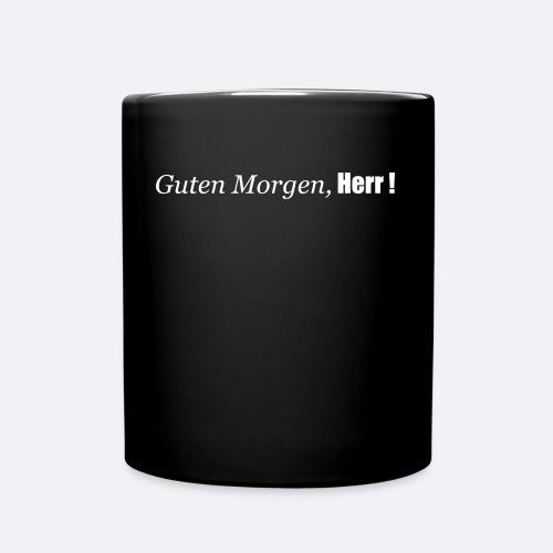 Guten Morgen, Herr! - Tasse einfarbig
