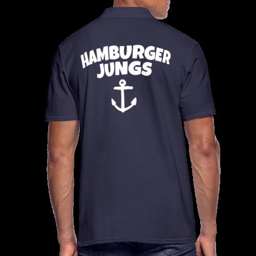 Hamburger Jungs Hamburg Poloshirt - Männer Poloshirt
