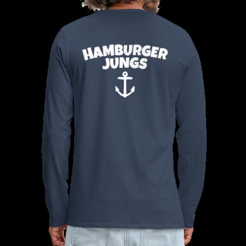 Hamburger Jungs Hamburg Shirt - Männer Premium Langarmshirt