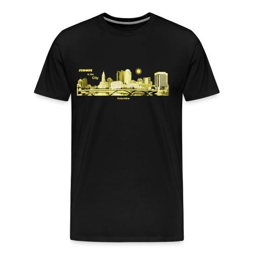 Columbia Skyline South Carolina USA - Männer Premium T-Shirt
