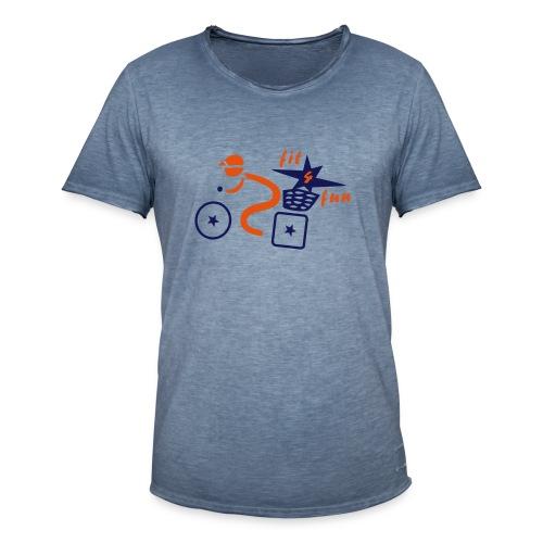 Biker - Männer Vintage T-Shirt