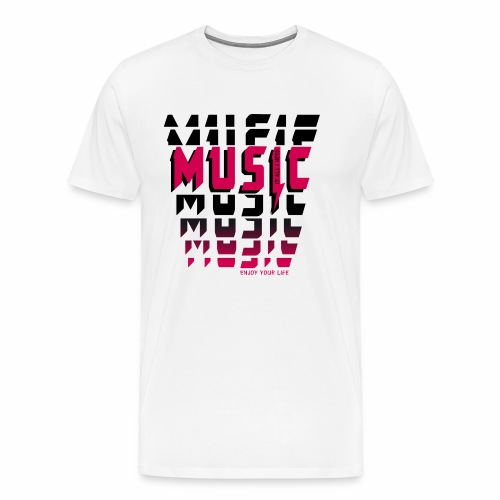 Music is all i need - Männer Premium T-Shirt