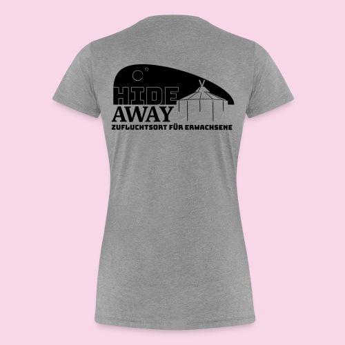HIDEaway 2018 damen hell - Frauen Premium T-Shirt