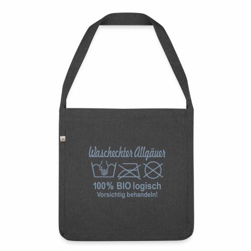 Waschechter Allgäuer - Tasche - Schultertasche aus Recycling-Material