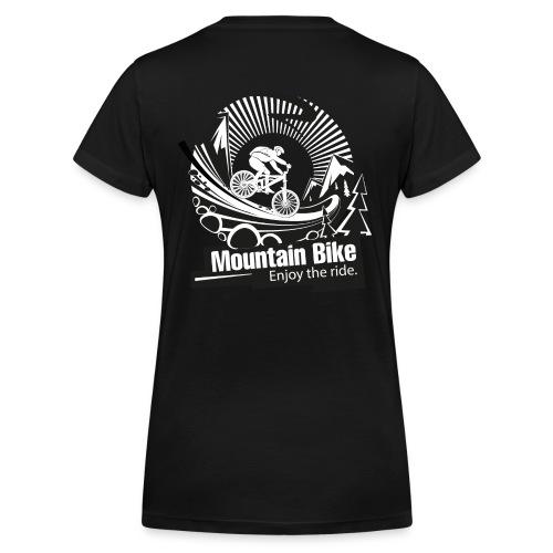 Damen snowex_bike - Frauen Bio-T-Shirt mit V-Ausschnitt von Stanley & Stella