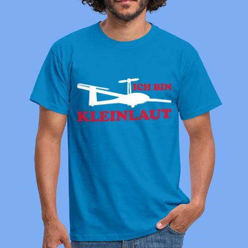 ich bin kleinlaut selbststart eigenstart Segelflugzeug sailplane glider soaring gliding Segeflieger - Men's T-Shirt