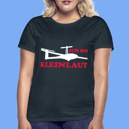 ich bin kleinlaut selbststart eigenstart Segelflugzeug sailplane glider soaring gliding Segeflieger - Women's T-Shirt