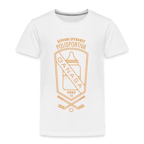 Polisportiva ganasa –giovane speranza - Maglietta Premium per bambini