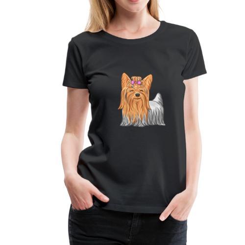 Naisten premium t-paita