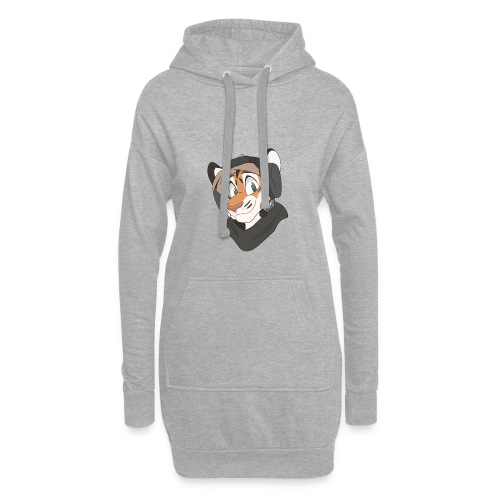 Friendly Tiger Hoodie Dress - Hettekjole
