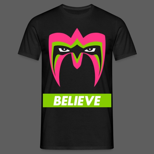Ultimate Warrior Believe Shirt - Men's T-Shirt