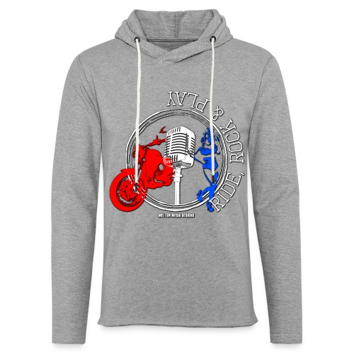 Ride, Rock & Play HOODIE - Light Unisex Sweatshirt Hoodie