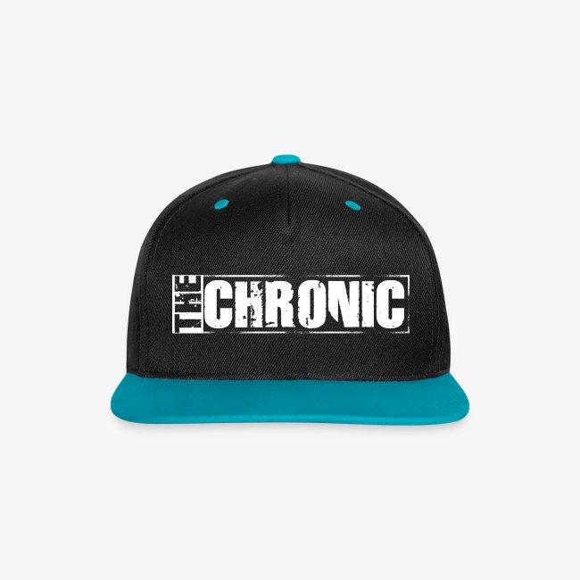"Cap ""THE CHRONIC"" written"