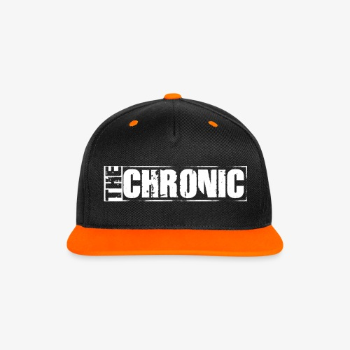 Cap THE CHRONIC written - Cappellino snapback in contrasto cromatico