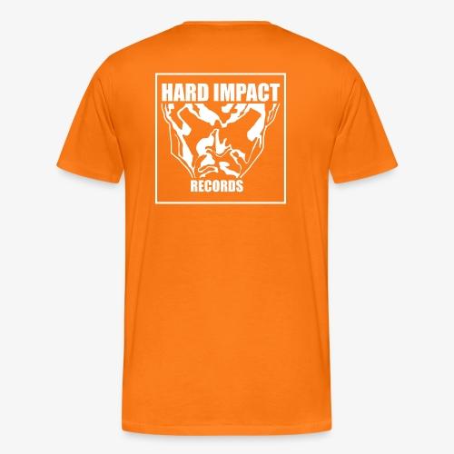 Hard Impact Records T-Shirt Big Logo V. 2.0 - Maglietta Premium da uomo