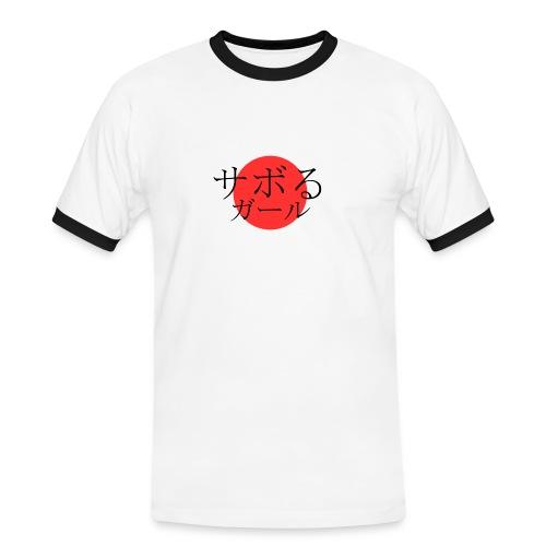 Saboru Girl - Contrast T - Men's Ringer Shirt