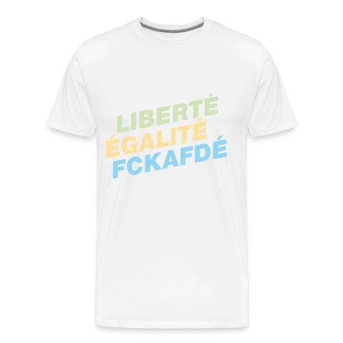 FCKAFDÉ - Männer Premium T-Shirt