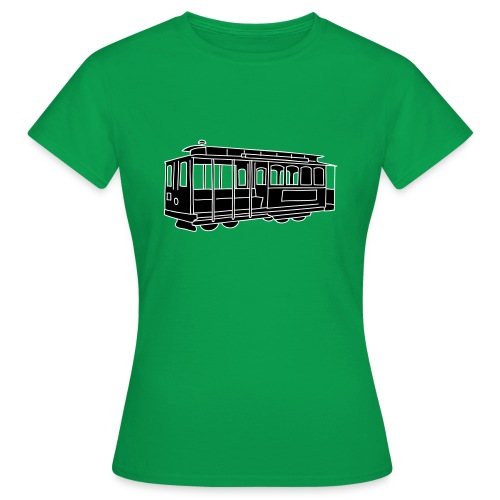 San Francisco Cable Car - Frauen T-Shirt
