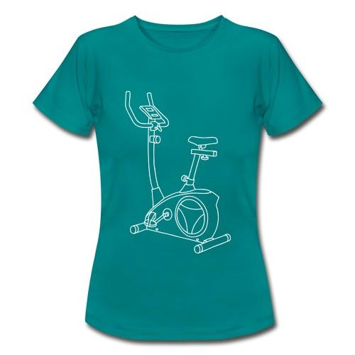 Heimtrainer Trimmdich-Rad - Frauen T-Shirt