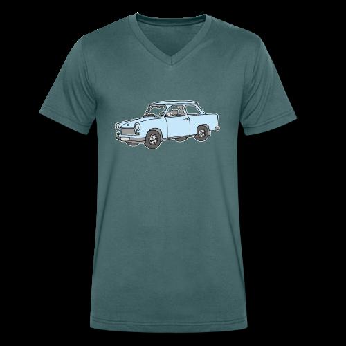 Trabant Trabi c - Männer Bio-T-Shirt mit V-Ausschnitt von Stanley & Stella