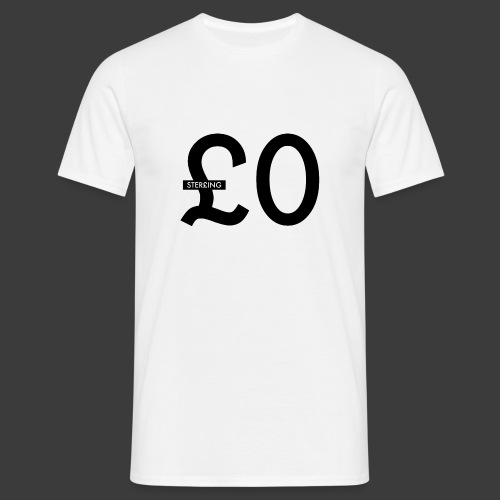 £0 Tee - Men's T-Shirt