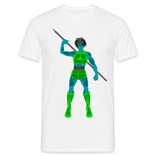 SPEAR - GREEN - Maglietta da uomo