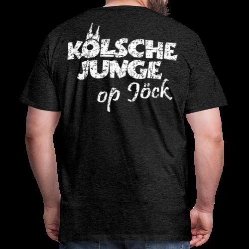 Kölsche Junge Op Jöck Premium Köln T-Shirt - Männer Premium T-Shirt