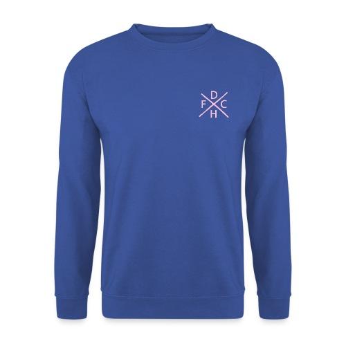 DHFC hard core left aligned - Men's Sweatshirt