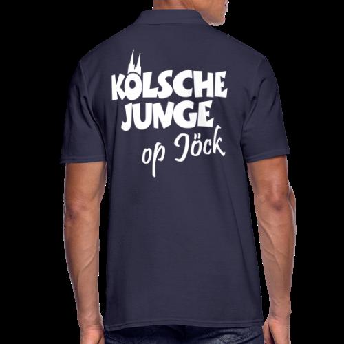 Kölsche Junge op Jöck Köln Polo Shirt - Männer Poloshirt
