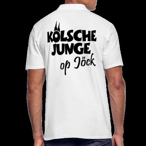 Kölsche Junge op Jöck Köln Poloshirt - Männer Poloshirt