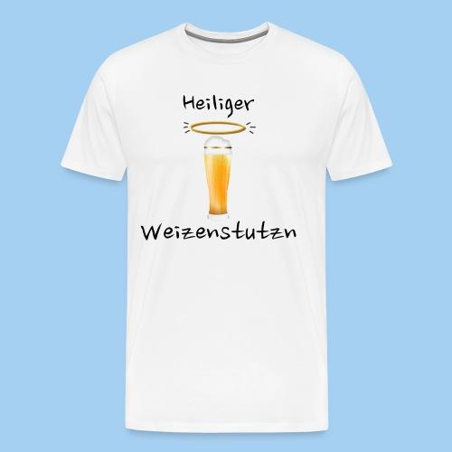 Heiliger Weizenstutzn - Shirt spezial - Männer Premium T-Shirt