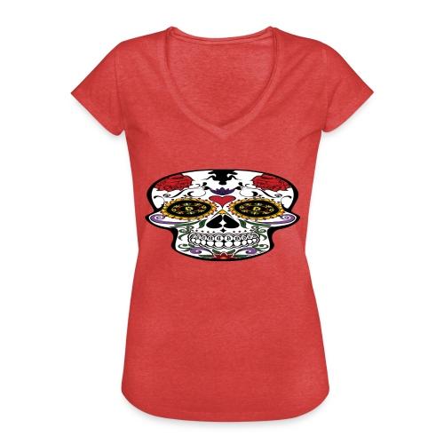 Bitcoin Skull Edition - Women's Vintage T-Shirt - Women's Vintage T-Shirt