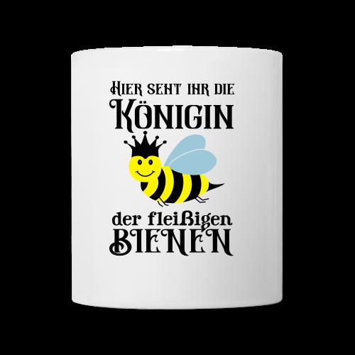 Danke Sagen Fleißige Biene Königin Spruch Tasse - Tasse